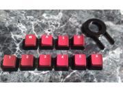 Corsair FPS Backlit Key Caps for Gaming Keyboards cherry MX Key switches /puller