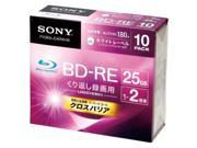Sony BD-RE 25GB 2X video blu ray 10 pack Repacked 9SIA6UM4144371