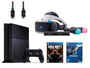 PlayStation VR Start Bundle 5 Items VR Headset Move Controller PlayStation Camera Motion Sensor PlayStation 4Call of Duty Black Ops III VR Game Disc PSVR DriveC