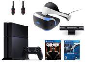 PlayStation VR Bundle 4 Items VR Headset Playstation Camera PlayStation 4 Call of Duty Black Ops III VR Game Disc PSVR DriveClub