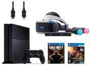 PlayStation VR Start Bundle 5 Items VR Headset Move Controller PlayStation Camera Motion Sensor PlayStaion4 Call of Duty Black Ops III VR Game Disc PSVR EV Valk