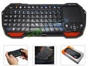 Portable Mini Wireless 10m Remote Bluetooth Keyboard with Multi-Touch Pad Touchpad Mouse Full QWERTY Backlit Keyboard