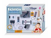WPS Play Accessories Barber Shop Salon Hairstyle Play Set Kit with shaving razor for Boy Kids Gift a