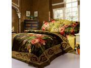 NorthernLights 3D reactive printing series Peony Flat sheet & Pillowcases & Quilt cover 9SIA6WS2HH4590