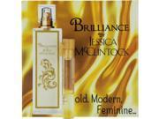 JESSICA MC CLINTOCK BRILLIANCE by Jessica McClintock EAU DE PARFUM VIAL ON CARD