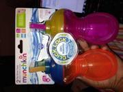 Munchkin Click Lock Flip Straw Cups - 2pk Girl 9SIAD2459X9672