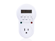 Digital Programmable Timer Socket Plug Wall Home Plug-in switch Energy-Saving Outlet(US Plug)