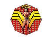 Pefect as Gift Umbrella New 2015 Cartoon Superhero Wonder Woman Printed 43.5 inch Wide Foldable Umbrella Anti Rain Durable Umbrella