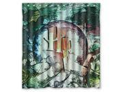 Bathroom Shower Curtain Waterproof EVA Harry Potter Home decor Bath Curtain Fabric Shower Curtain 66