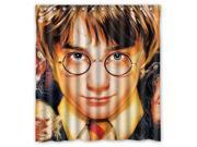 Fashion Design Harry Potter Bathroom Waterproof Polyester Fabric Shower Curtain With Hooks 66