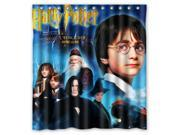 Eco-friendly Waterproof Shower Curtain Harry Potter Bathroom Polyester Fabric Shower Curtain 66