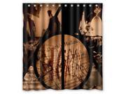 Bathroom Shower Curtain Waterproof EVA Harry Potter Deathly Hallows Home decor Bath Curtain Fabric Shower Curtain 66