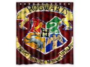 Bathroom Shower Curtain Waterproof EVA Harry Potter Hogwarts Badge Home decor Bath Curtain Fabric Shower Curtain 66