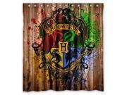 Bathroom Shower Curtain Waterproof EVA Harry Potter Hogwarts Badge Home decor Bath Curtain Fabric Shower Curtain 66