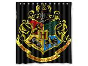 2016 Waterproof Bath Curtain Harry Potter Hogwarts Badge Home decor Bathroom Shower Curtain PEVA Fabric Shower Curtain 60