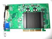 View Video Graphics nVIDIA GeForce 6200 AGP 4X 8X Dual Monitor Display VGA Card 512MB 64-Bit DDR2
