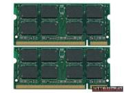 2GB Kit (2*1GB) DDR2 200-Pin SODIMM Laptop Unbuffered NON-ECC RAM Memory for Dell Inspiron 6400 (Ship from US)