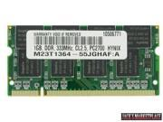 1GB PC-2700 333MHz MEMORY DDR 333 (PC 2700) FOR DELL INSPIRON 8600 NEW (Ship from US)