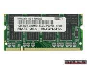 1GB PC-2700 333MHz MEMORY DDR 333 (PC 2700) FOR HP BUSINESS NX9040 (Ship from US)