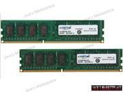 Crucial 8GB (2 x 4GB) 240-Pin DDR3 SDRAM DDR3 1600 (PC3 12800) Desktop Memory Model CT2KIT51264BA160BJ (Ship from US)