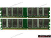 2GB (2X1GB) PC2700 DDR-333MHz 184-Pin DIMM Desktop Memory for eMachines T2825 NEW (Ship from US)