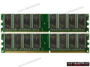 2GB (2X1GB) DDR Memory DDR-333MHz PC2700 for IBM ThinkCentre S50 8183 (Ship from US)
