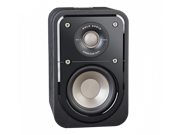 Polk Audio Signature Series S10 American Hi-Fi Home Theater Compact Satellite Surround Speaker - Pair (Black)