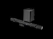 """JBL 5.1-Channel Soundbar System with 10"""" Wireless Subwoofer and 4K & HDR Support Black JBLBAR51BLKAM"""