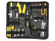 New Professional 58 Piece PC Computer Electrician Handyman DIY Repair Tool Kit Case