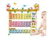 Can Remove Wall Stick Children Learn The Phonetic Alphabet Kindergarten Classroom Decorate Wall Stickers Am6001