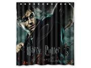 Custom Harry Potter Waterproof Shower Curtain High Quality Bathroom Curtain With Hooks 66