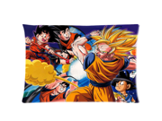 Hot Japanese Anime Dragon Ball Z Son Goku Two Sides Printed Size:20X30 Inch(50% cotton, 50% polyester)Soft Cotton Pillow Covers Decorative Cushion Covers 9SIA72M5CG5377