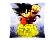 Hot Japanese Anime Dragon Ball Z Son Goku Two Sides Printed Size:18X18 Inch(50% cotton, 50% polyester)Zippered Soft Cotton Pillow Covers Decorative Cushion Cove 9SIA72M5CG5564