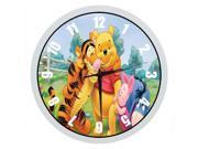 Winnie the Pooh 10 Inch Wall Clock Indoor Outdoor Decorative Silent Quartz Wall Clock