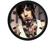 Bring Me the Horizon Oliver Sykes 10 Inch Wall Clock Indoor Outdoor Decorative Silent Quartz Wall Clock