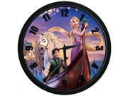 Large Indoor Outdoor Decorative Wall Clock Tangled 12 Inch Wall Clock