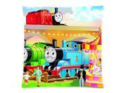 Soft Pillow Case Cushion Cover Thomas and His Friends 18X18 Inch Two Sides Printed (50% cotton, 50% polyester) Zippered Pillowcase 9SIA72M5JA4480