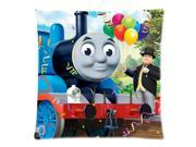 Thomas and His Friends Pillow Case Cover Standard 18X18 Inch Two Sides Printed (50% cotton, 50% polyester) Zippered Pillowcase 9SIA72M5JA4379