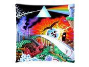 Pink Floyd Cushion Cover Pillow Case Standard 18X18 Inch Two Sides Printed (50% cotton, 50% polyester) Zippered Pillowcase