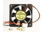 60mm 25mm Case Fan 24V DC 24CFM CPU Computer Cooling Sleeve Brg 2wire 367*
