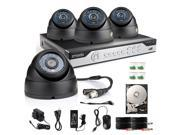 New Zmodo 8CH HDMI DVR Outdoor IR Home Surveillance Security Camera System 500GB HDD
