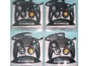 Lot of 4 Controllers for Nintendo GameCube or Wii BLACK