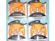 Lot of 4Controllers for Nintendo GameCube or Wii