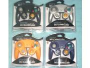 4 Controllers for Nintendo GameCube Wii Black Platinum Orange Spice Indigo