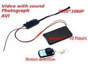 1080P HD DIY Module Spy Hidden Camera Video MINI DV DVR Motion Remote Control