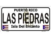 RIO PIEDRA Puerto Rico State Background Background Aluminum License Plate SB LP2853