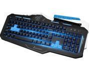 Sunsonny Black Sk-v91 X- ghost glare version Backlit USB Wired Keyboard (Plate-backlit)
