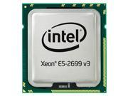 Dell 338-BGNJ - Intel Xeon E5-2699 v3 2.3GHz 45MB Cache 18-Core Processor