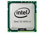 Dell 338-BEMY - Intel Xeon E5-4650 v2 2.4GHz 25MB Cache 10-Core Processor