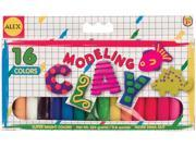 Modeling Clay .75oz 16/Pkg-Assorted Colors - 467142